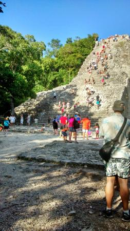 Cancun Bay Tours : Nohoch Mul at Coba
