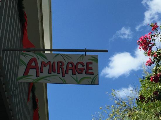 Amirage sign.