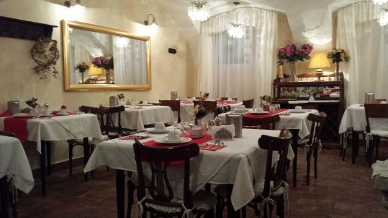 Allegro Hotel: La sala della prima colazione