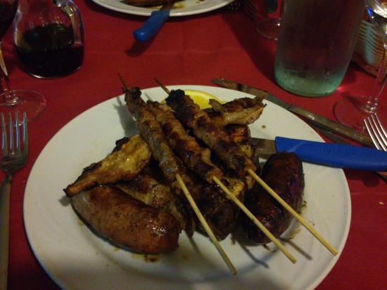 Taverna dei briganti: grigliata mista