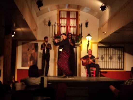 Sala Sentir Flamenco: ballerina