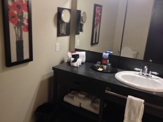Grand Times Hotel - Quebec City Airport: salle de bain