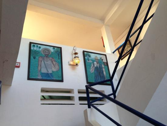 Hotel La Residence : 階段