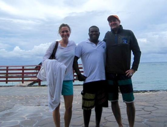 Easy Dive Mauritius: Abby, Benoit and James