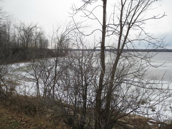 Sir John A. MacDonald Parkway: The parkway in winter