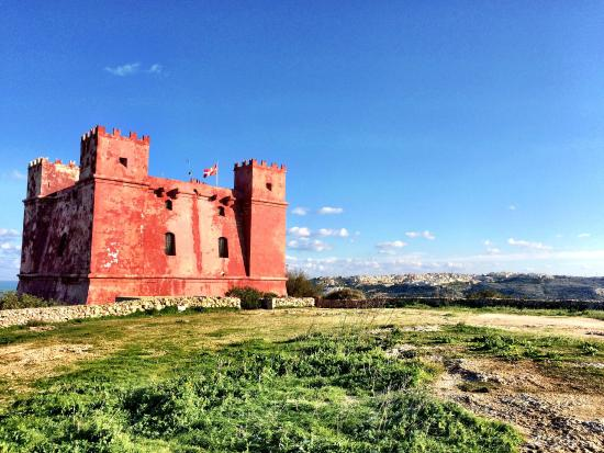 St Agatha's Tower (Red Tower)