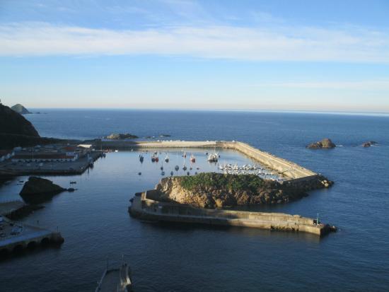 Casona Selgas: puerto de Cudillero