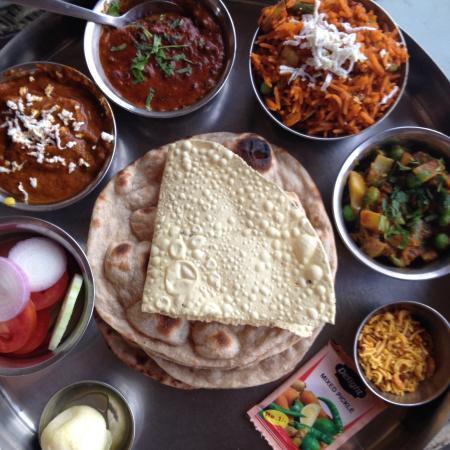 JHANKAR..Choti Haveli Restaurant: Jumbo thali