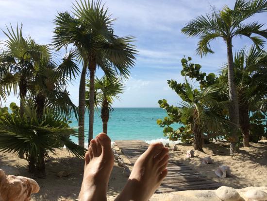 Island HoppInn: Christmas Day.  This is from the main house veranda