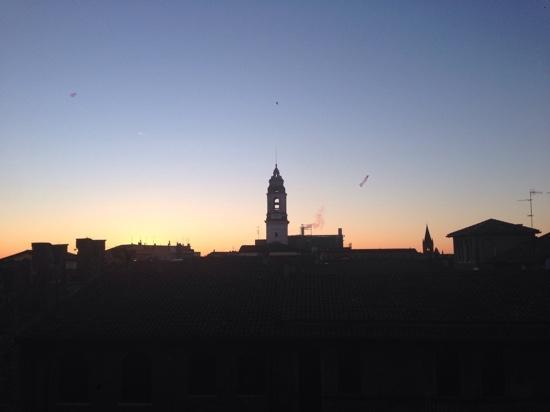 Juliette's Suite: Sonnenaufgang vom Zimmer