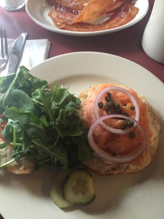 The Mix: Lox and Bagel