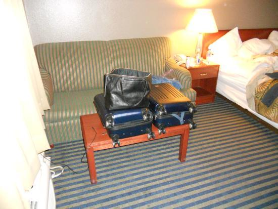 Buena Vista Motor Inn: Couch/Sitting Area