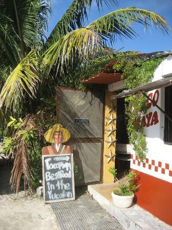 Entance to TacoMaya