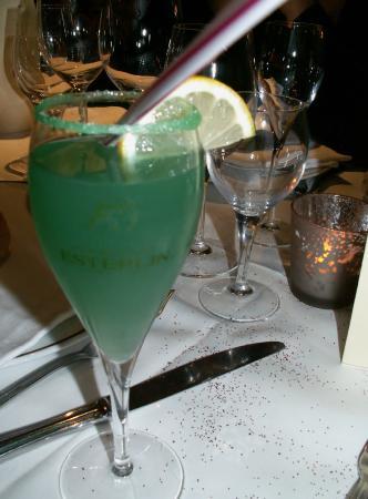 Hostellerie de la Vieille Ferme: le cocktail de la soirée