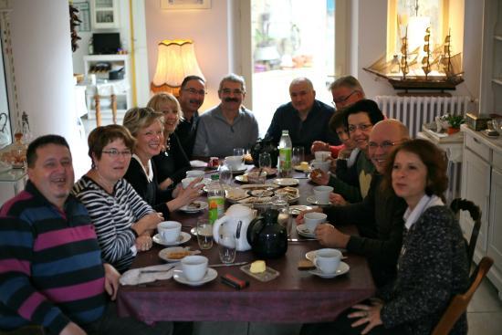 Les Angelots: petit déjeuner entre amis le 1er janvier 2015