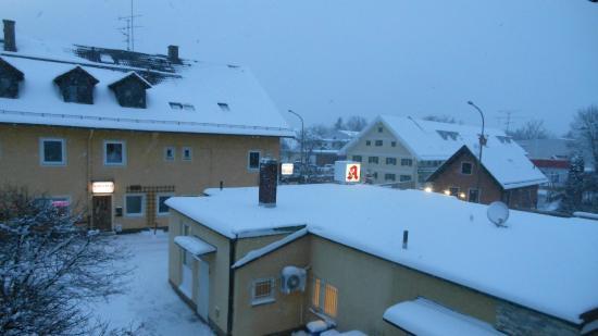 Hotel Obermaier : Vista dalla camera