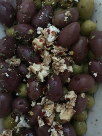 The Mediterranean Cafe: Olives