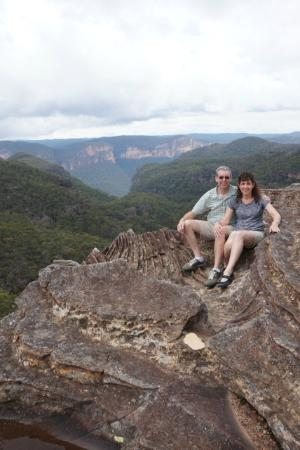 Sydney Great Escapes - Blue Mountains Day Tours : Robs Secret Spot he will take you to!