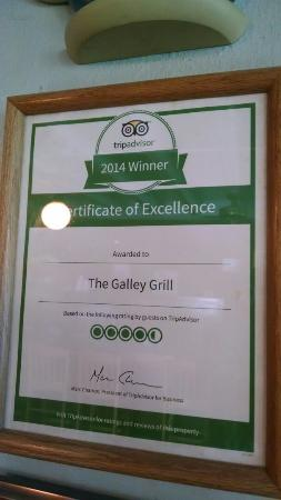 The Galley Grill: 2014 winner