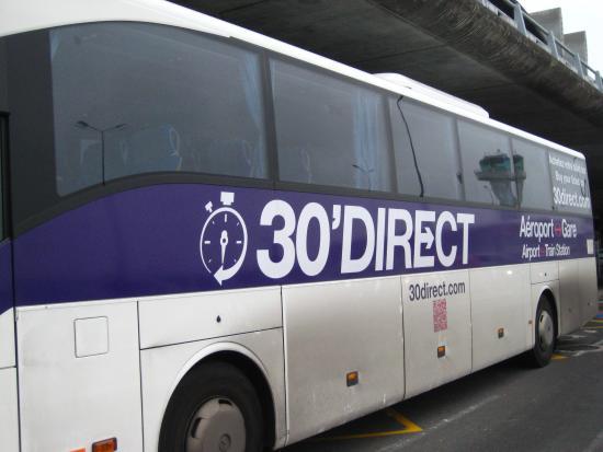 Ibis Bordeaux Centre Gare Saint-Jean Euratlantique : direct bus from airport to st jean
