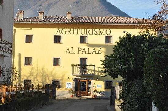 Agriturismo Al Palaz: ENTRATA DEL AGRITURISMO