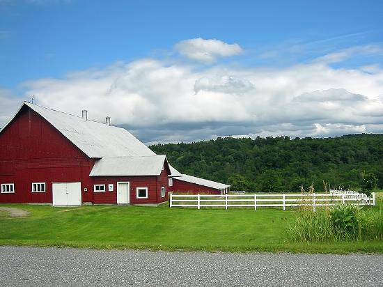 Fairfield, VT: The Big Red Barn