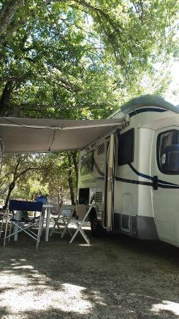 Camping Le Moulin à Vent : Camping