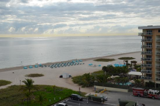 Residence Inn Fort Lauderdale Pompano Beach/Oceanfront: View from private balcony