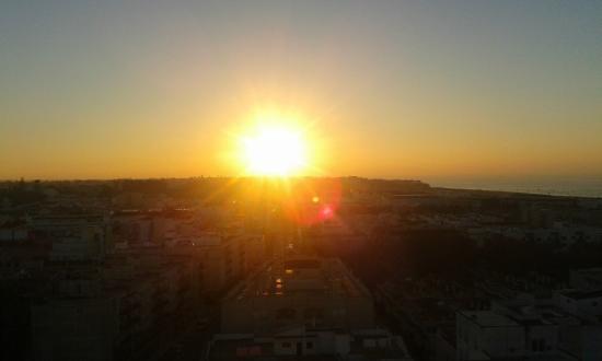 Hotel Guadalquivir: atardecer de diciembre