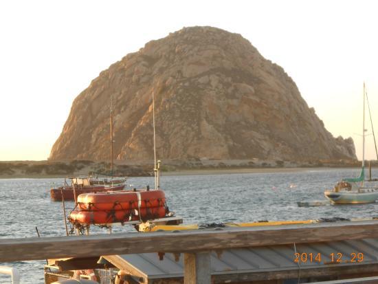 Seaside Inn Morro Bay : Morro Rock