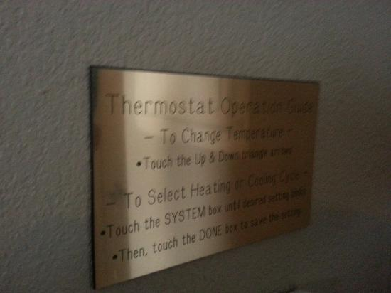 Homewood Suites by Hilton La Quinta: I love that you can control the AC and heat in each room!