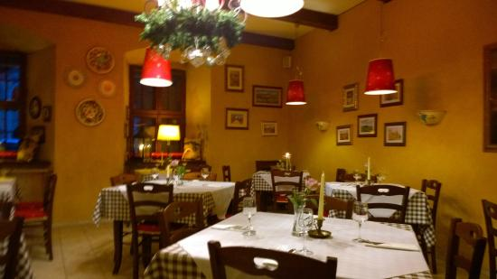 Restaurant interior picture of fiorentino vilnius