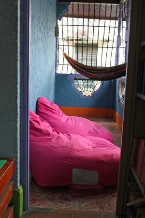 Hostal Mamallena : The balcony