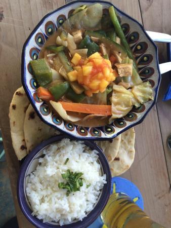 LALA Gallery and Garden Cafe: Curry Curcuma!!