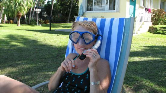 Coconut Bay Resort: Great snorkeling with manatees!