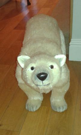 Meadow View: Polar Bear greeting