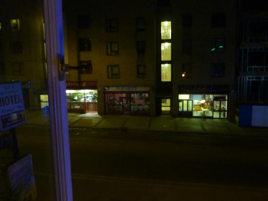 Bridge Park Hotel : view from my room at 11. p.m.