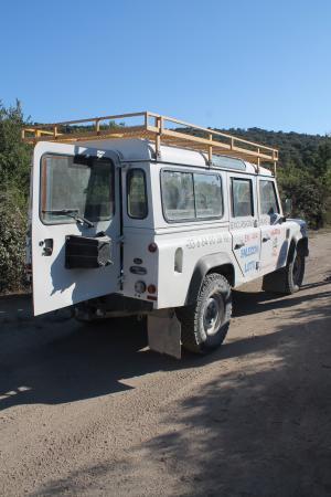 U Santu Petru : jeep 4x4