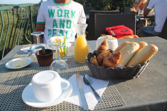U Santu Petru : colazione