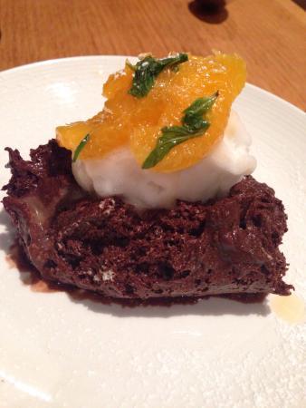 Bacchus at Milton: Chocolate mousse