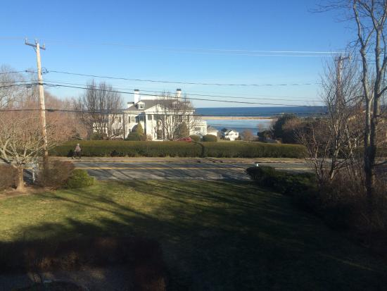 Above the Bay at Thornton Adams Bed and Breakfast: View from the room