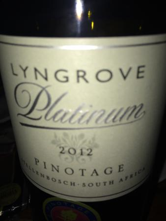 Lyngrove Wines and Guesthouse: For me - great wine! I've decided to carry bottle in my suitcase:-)