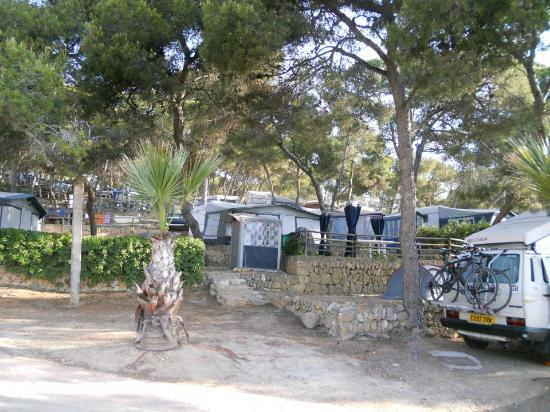 Torre De La Mora : Area do Camping