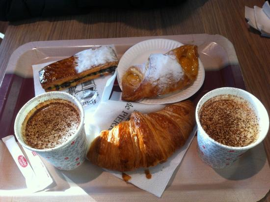 Colazione foto di brioche doree parigi tripadvisor for Colazione parigi