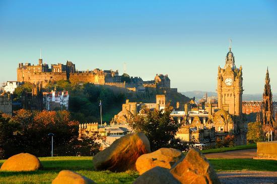 Milla Real: Edinburgh Castle