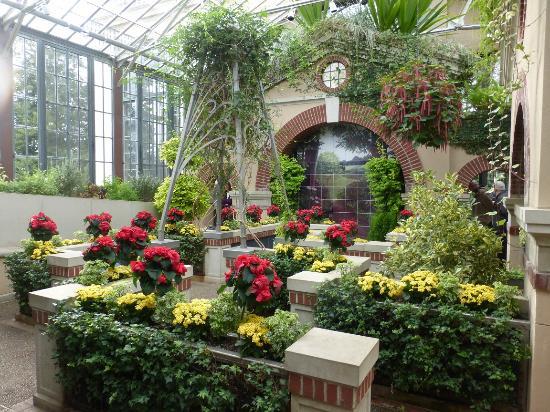 Silver Garden Longwood Gardens Christmas Picture Of Longwood Gardens Kennett Square Tripadvisor