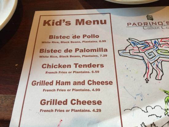 Padrino's Cuban Cuisine: Great Cuban food. Definitely will come back!