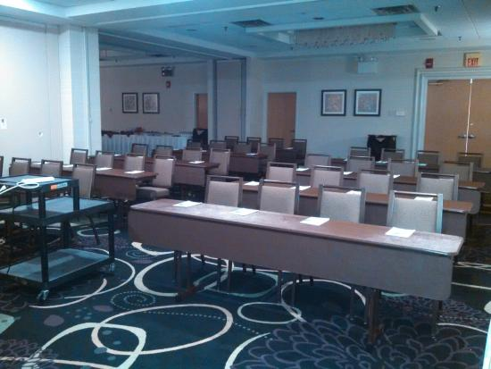 Holiday Inn Wilkes Barre East Mountain: Classroom Set up