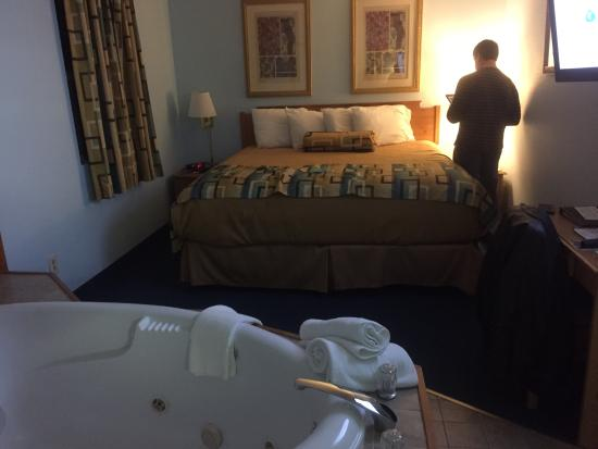 Motel 62 : Bedroom area