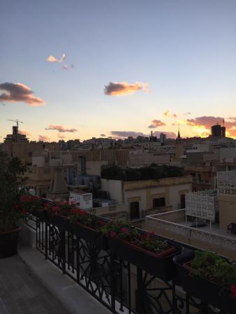 Le Patio Boutique Hotel: The view